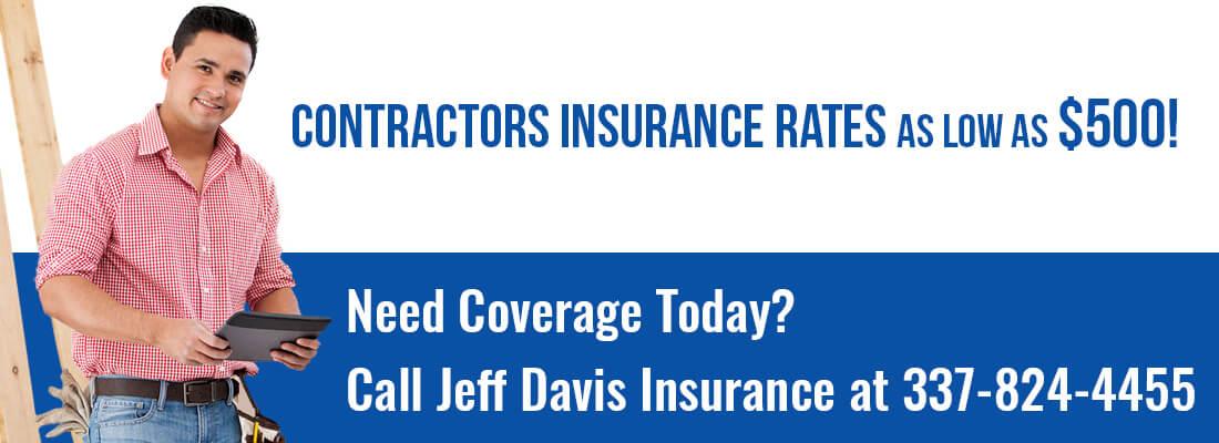 Contractors Insurance Louisiana